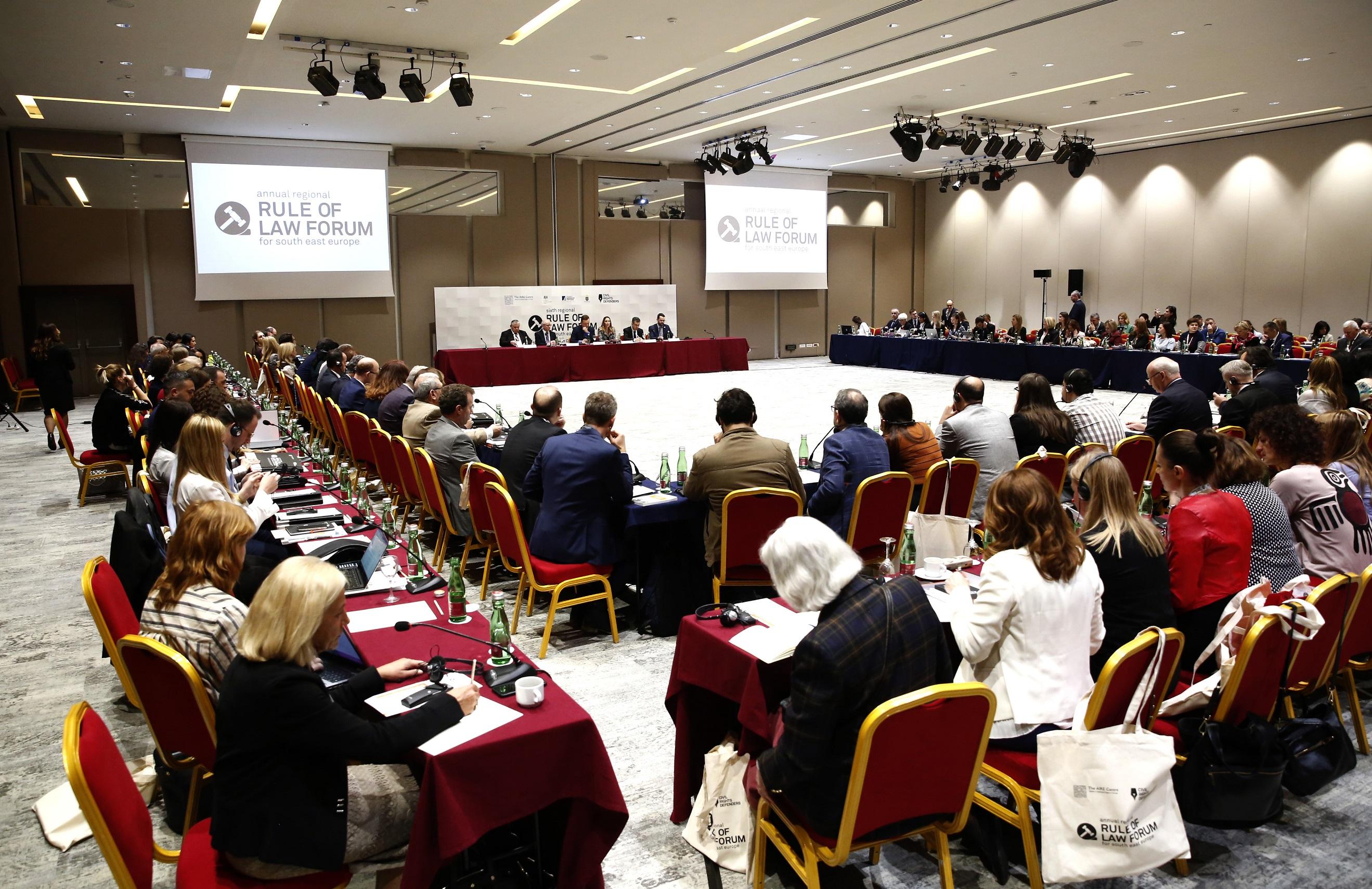 """Kryetari i Gjykatës së Lartë Z. Xhezair Zaganjori mori pjesë në Konferencën Ndërkombëtare me temë """"Të Drejtat e Fëmijëve dhe Gjykata Evropiane e të Drejtave të Njeriut"""", zhvilluar në datat 22-23 Mars 2019 në Dubrovnik, Kroaci."""