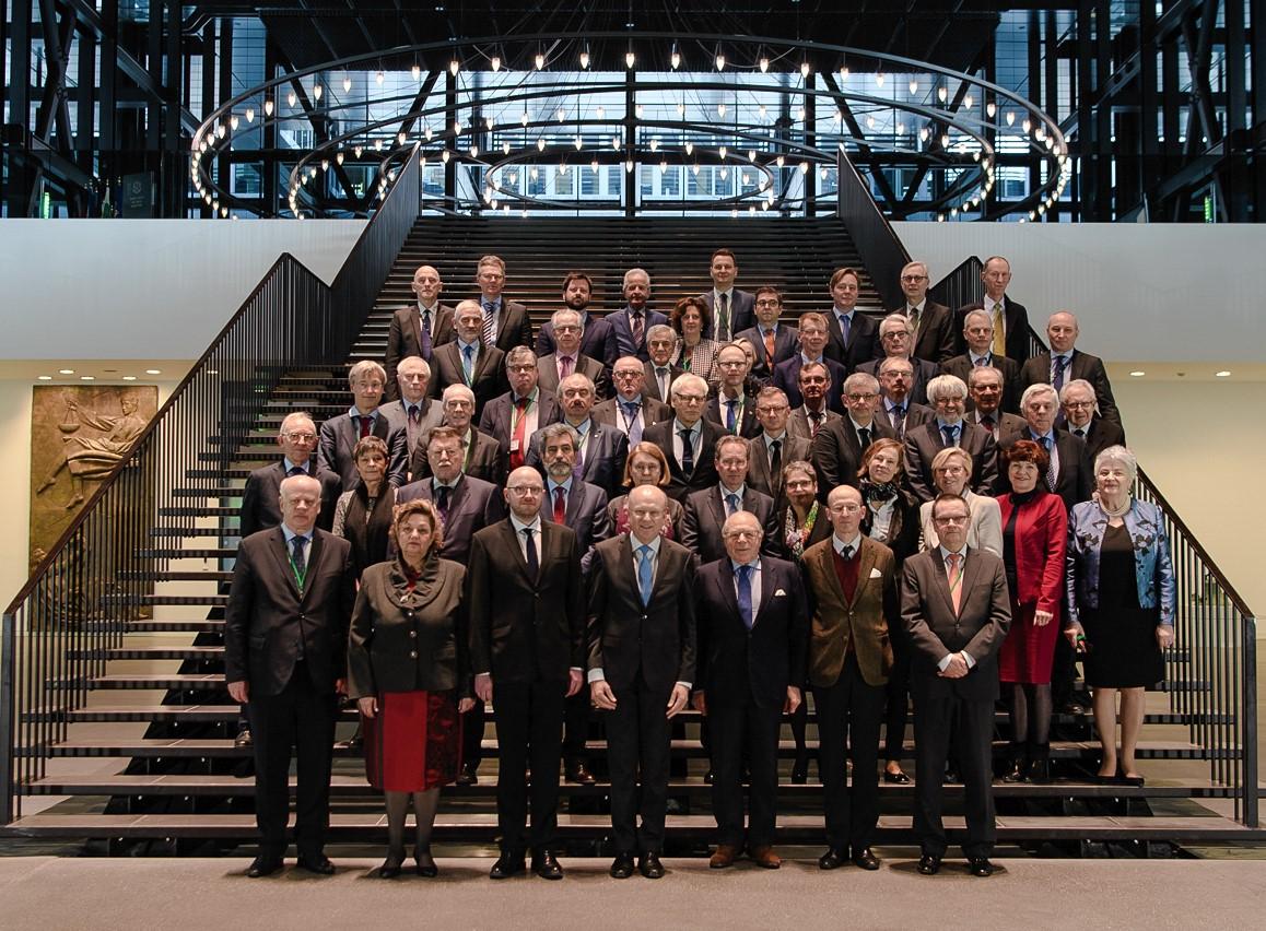 """Kryetari i Gjykatës së Lartë Z. Xhezair Zaganjori mori pjesë në takimin e përbashkët të punës, zhvilluar ndërmjet Gjykatës Evropiane të Drejtësisë (GJED) dhe """"Rrjetit të Kryetarëve të Gjykatave të Larta të vendeve të Bashkimit Evropian"""""""