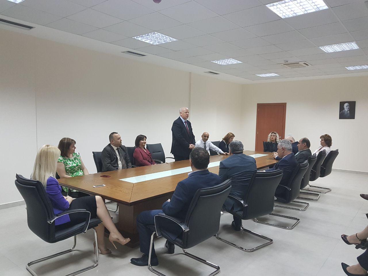 Në kuadër të organizimeve që zhvillohen çdo vit me rastin e 10 Majit, Ditës Kombëtare të Drejtësisë, Kryetari i Gjykatës së Lartë Z. Xhezair Zaganjori, mori pjesë në inaugurimin e godinës së re të Gjykatës së Rrethit Gjyqësor Elbasan.