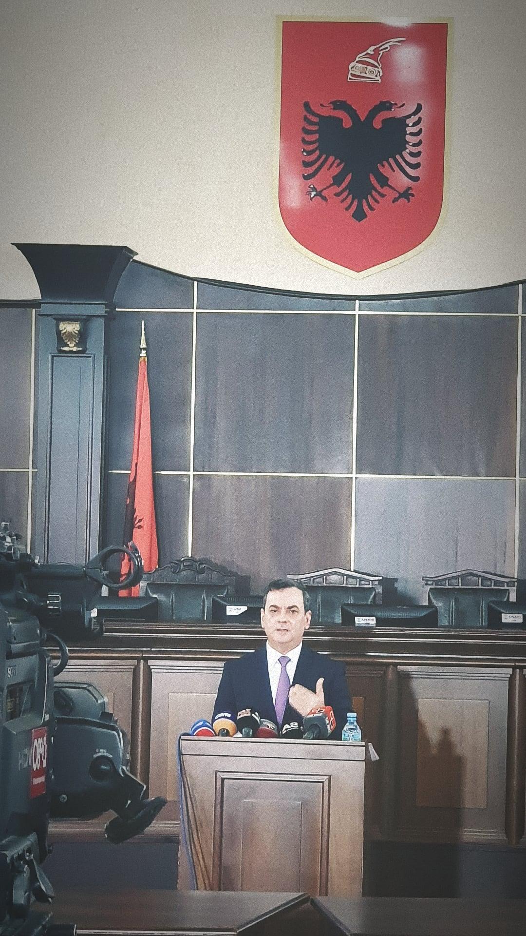 Deklarate per Median e Zevendes Kryetarit te Gjykates se Larte, Z. Sokol Sadushi