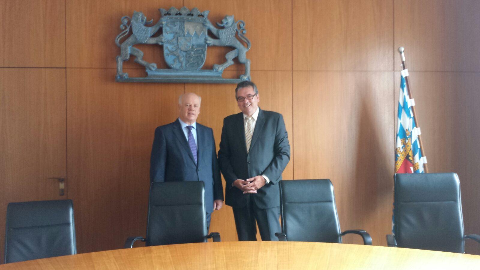 Në datat 22-23 korrik, Kryetari i Gjykatës së Lartë Z. Xhezair Zaganjori zhvilloi një vizitë zyrtare në Landin e Bavarisë, Gjermani
