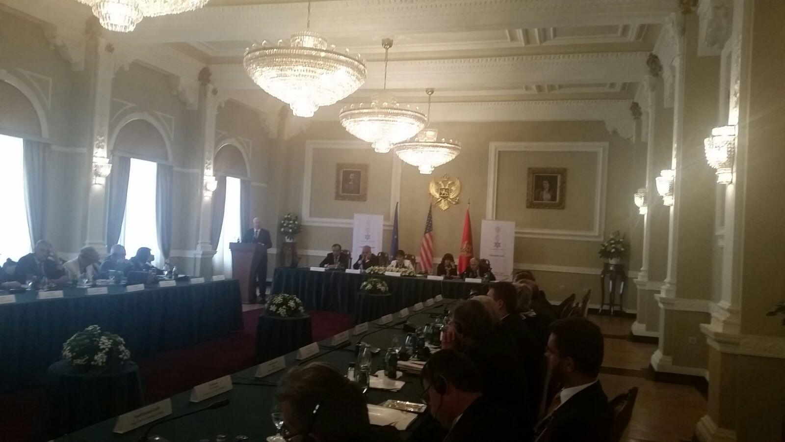 Kryetari i Gjykatës së Lartë Z. Xhezair Zaganjori, mori pjesë në Konferencën Ndërkombëtare të organizuar nga Gjykata e Lartë dhe Ministria e Drejtësisë e Malit të Zi, në Budva 18-21 shtator 2016
