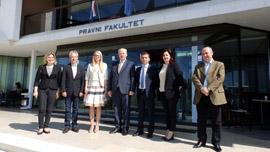 Kryetari i Gjykatës së Lartë Z. Xhezair Zaganjori, ka vizituar të enjten 26 prill 2018 Fakultetin e Drejtësisë në Universitetin e Rijekës, Kroaci.